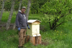 Melissa Bees helps Grow Organics start Bee Garden