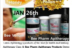 Apitherapy Class & Bee Pharm Products Demo at People's Co-op in Portland Jan. 26th, 2013