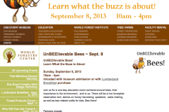 Melissa Bees at 'UnBeelievable Bees' at the World Forestry Center in Portland Sept. 8th