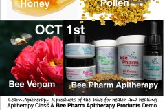 Hive Medicine: Intro to Apitherapy and BeePharm Apitherapy Products Demo at People's Co-op in Portland Oct. 1st
