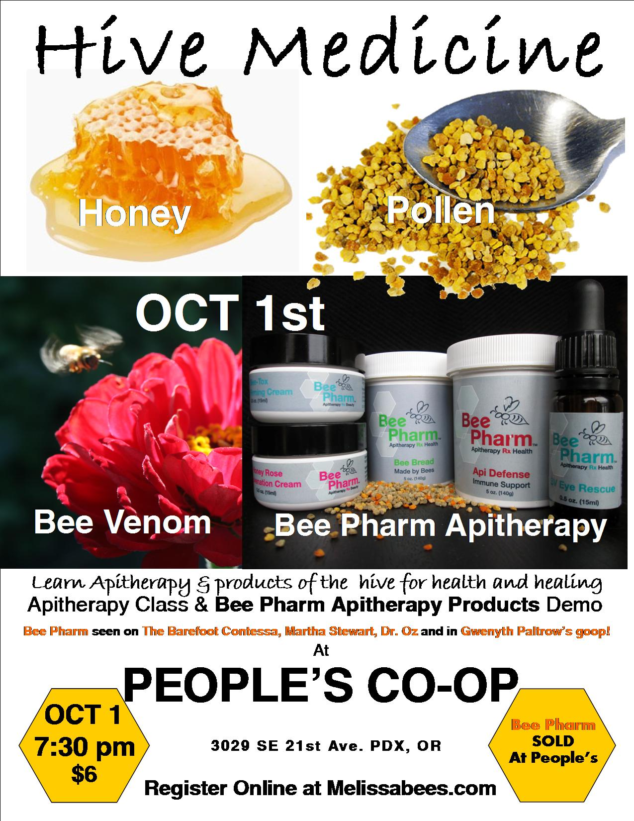 BeePharm Peoples 2013 Poster Final